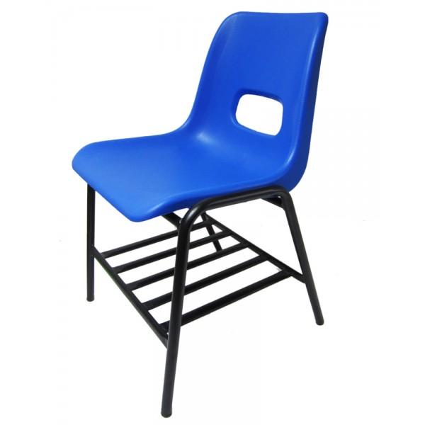 silla escolar berlin con refuerzo y parrilla pupitre