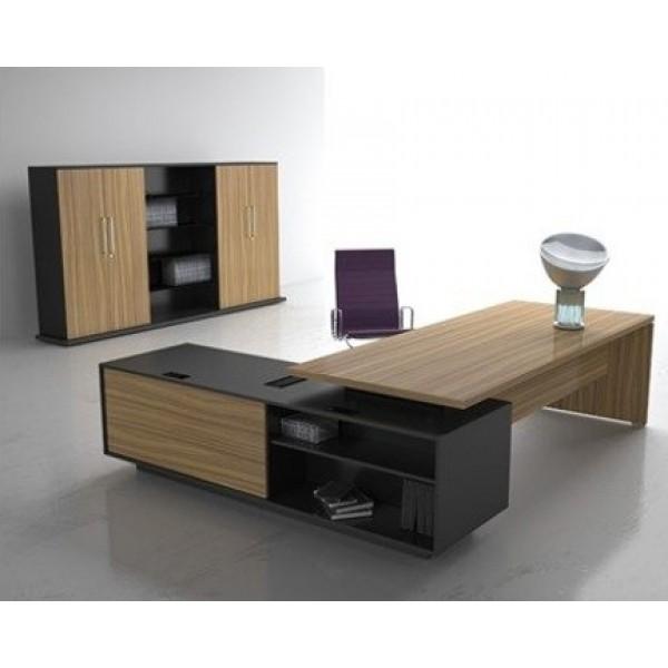 Escritorio boss 101 cf escritorio moderno escritorio for Mobiliario de oficina precios