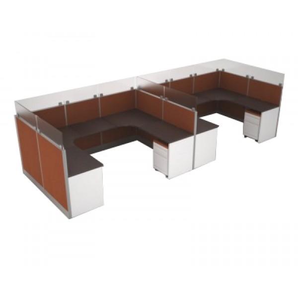 M dulo multiusuario1 escritorio moderno escritorio for Centro de trabajo oficina