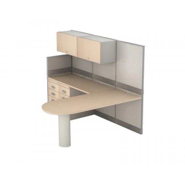 Estaci n de trabajo optimus1 escritorio moderno for Centro de trabajo oficina