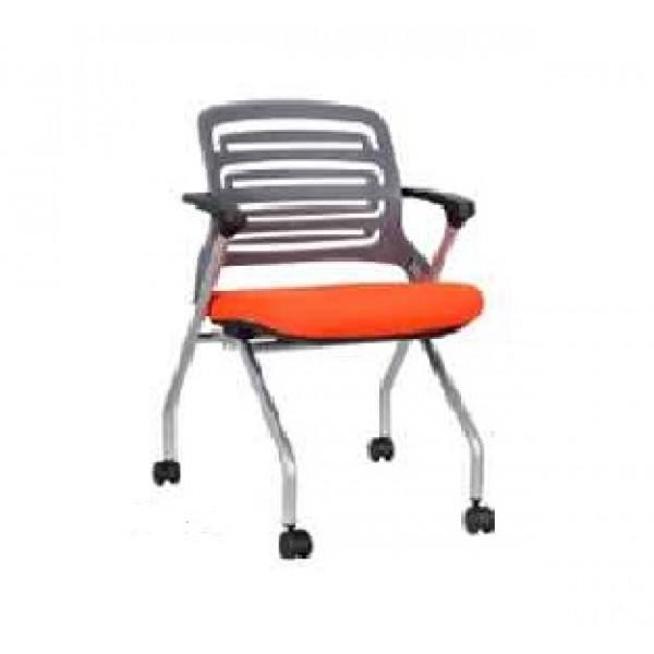 Silla ika naranja silla para capacitacion silla moderna for Silla universidad
