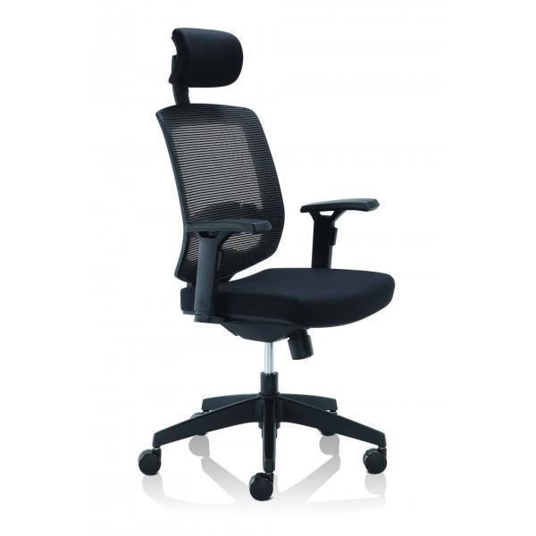 Silla ejecutiva liberty silla ejecutiva sillas for Sillas para oficina sodimac