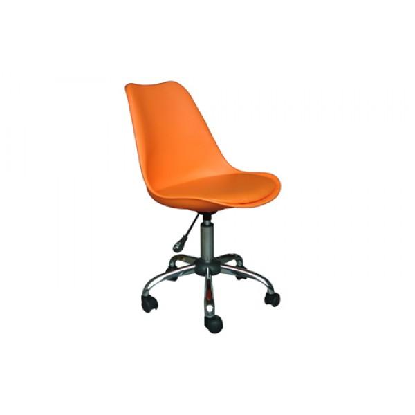 Silla secretarial leeds silla oficina mobiliario de for Mobiliario oficina sillas